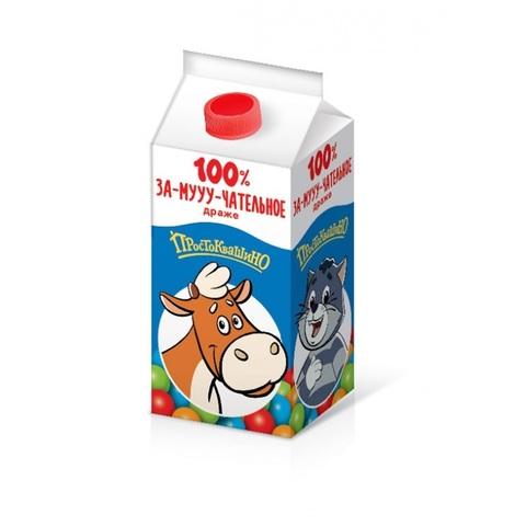 СОЮЗМУЛЬТФИЛЬМ ПРОСТОКВАШИНО Сахарное драже в коробочке Молоко 1кор*24бл*30шт, 8г.