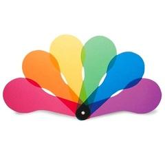 6 шт. Цветное весло Learning Resources