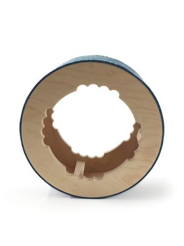 Йога колесо Mandala Blue 32 см