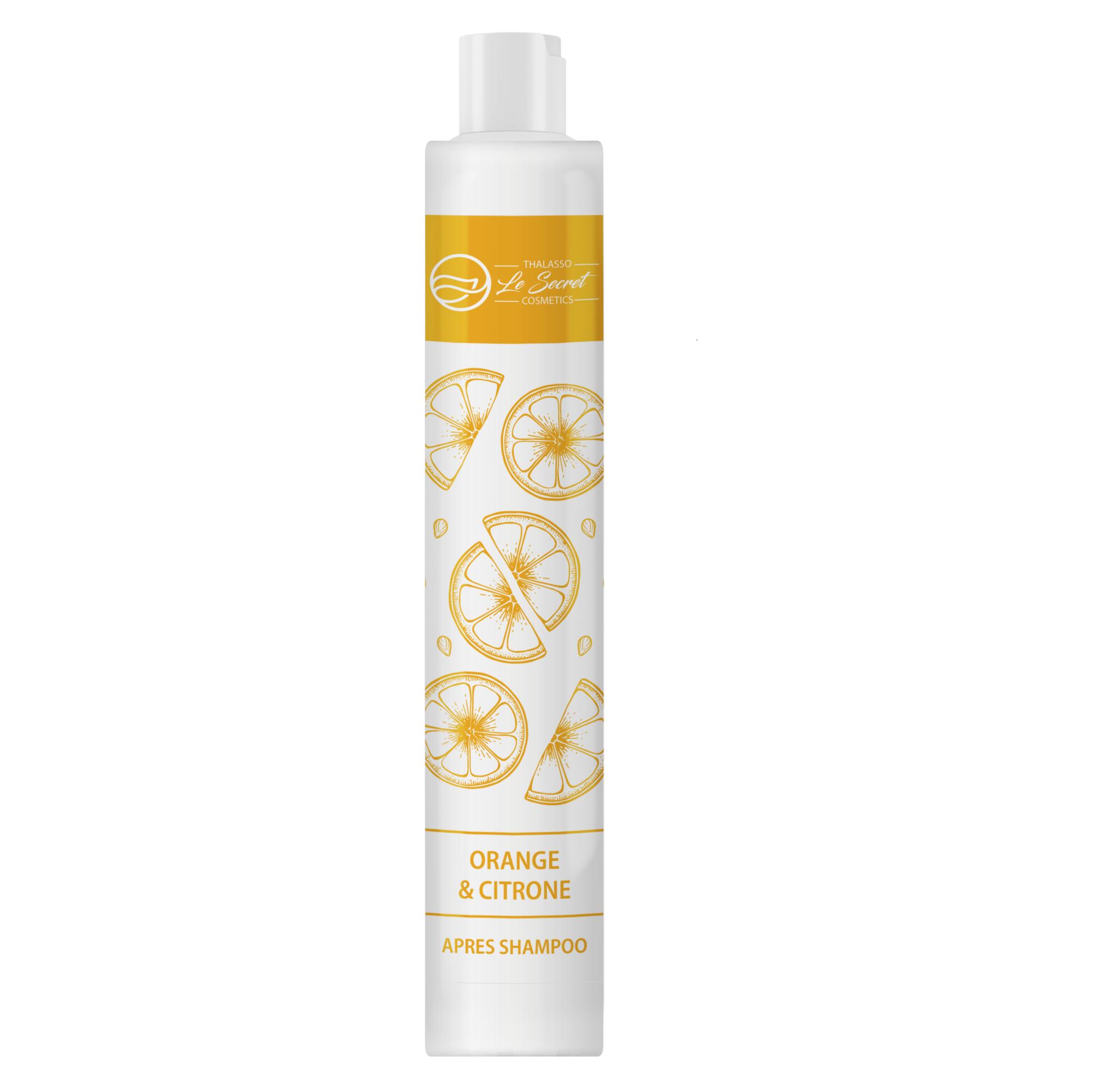 Бальзам ополаскиватель для волос Апельсин/Лимон Le Secret Thalasso