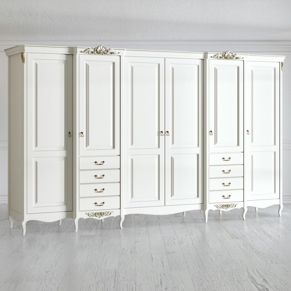 Шкаф 6 дверей