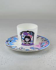 Фарфоровая чайная пара «Алиса» из серии «Алиса в Стране Чудес», Россия