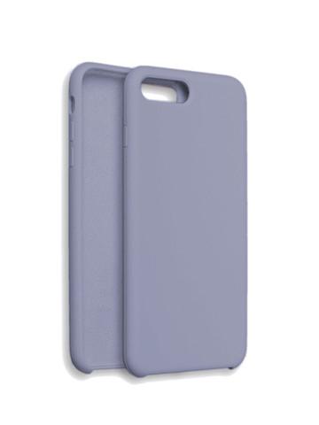 Чехол для iPhone 7/8/SE Софт тач мягкий эффект | микрофибра сиреневый