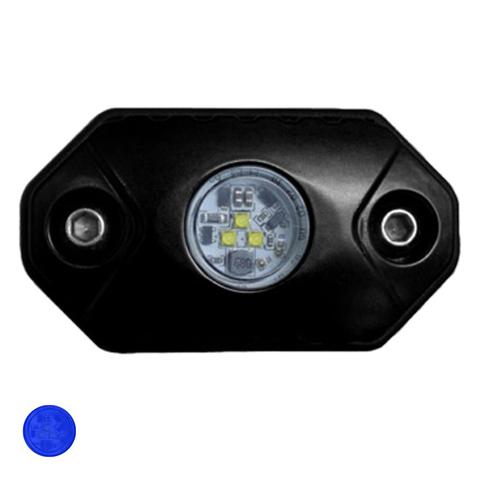 Светодиодная фара  рабочего синего света Аврора  врезная ALO-Y-2-B ALO-Y-2-B  фото-1