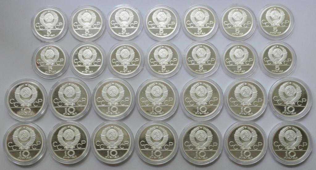 Комплект из 28 жетонов