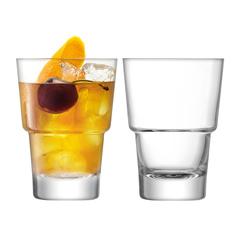 Набор из 2 стаканов для коктейлей LSA International Mixologist, 320 мл, фото 1