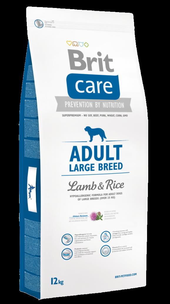 Brit Корм для собак крупных пород, Brit Care Adult Large Breed, с ягненком и рисом Brit-Care-Adult-Large-Breed-Lamb-and-Rice-12kg.png