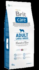 Корм для собак крупных пород, Brit Care Adult Large Breed, с ягненком и рисом