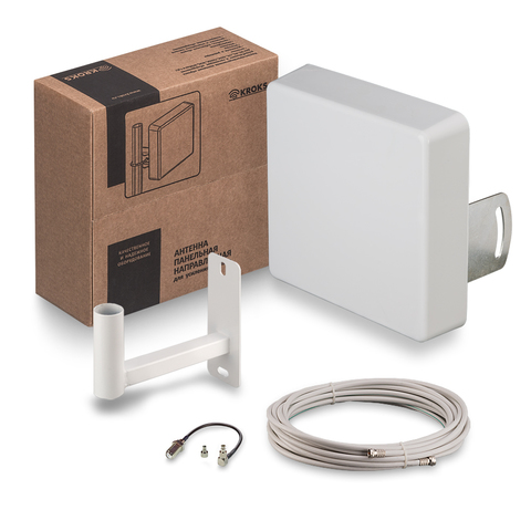 Комплект Kroks для усиления 3G/4G сигнала KSS15-3G/4G