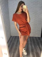 Платье-туника трикотажное купить