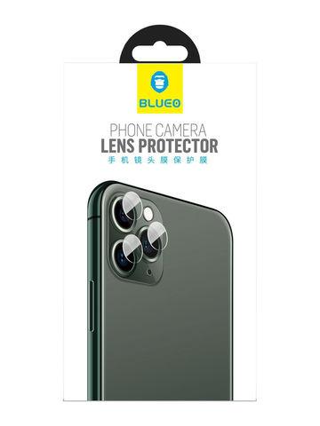 Защитное стекло BlueO для камеры iPhone 11 Pro/11 Pro Max закаленное | 2.5D комплект 3шт. 0.25мм