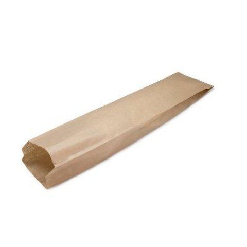 Пакет бумажный с плоским дном 110х50х610 мм