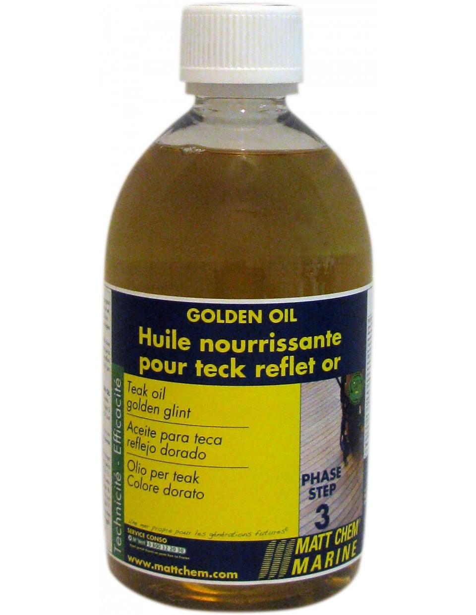 Teak golden oil