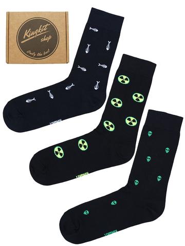 Набор Черных носков 3-77