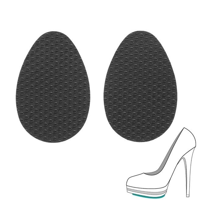 Противоскользящие наклейки на подошву туфель Anti-slip, 1 пара