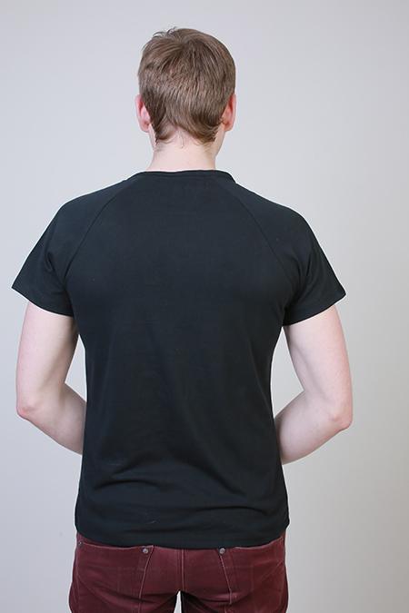 Лекала мужской футболки с рукавом реглан