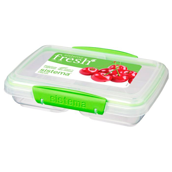 """Контейнер пищевой Sistema """"Fresh"""", двойной, 350 мл"""