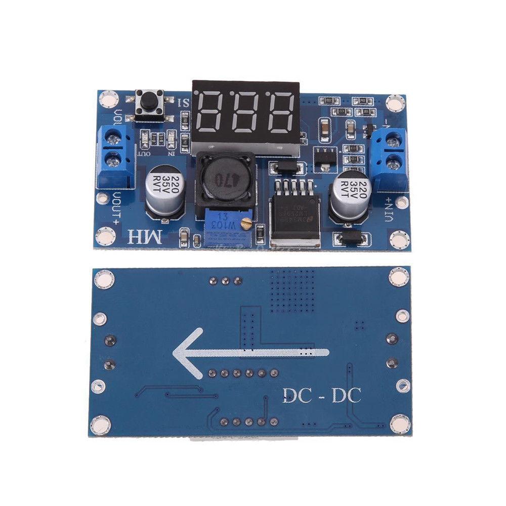 Повышающий DC-DС преобразователь XL6009 с индикатором