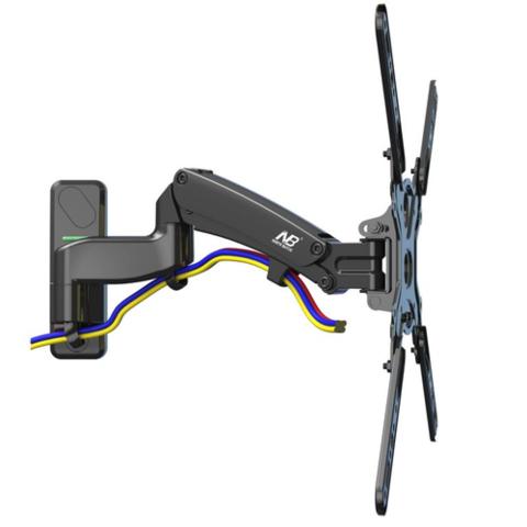 Кронштейн с газлифтом North Bayou NB F450 черный для телевизора и монитора