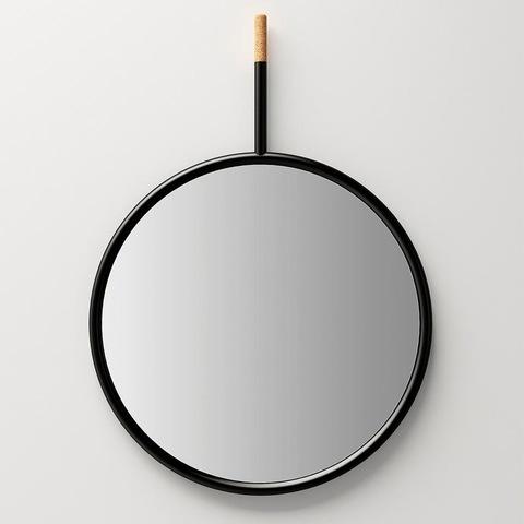 Зеркало Hang Mirror Negro