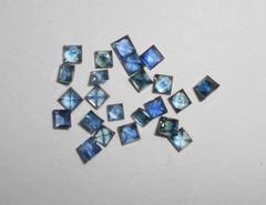 Сапфир 2.5-2.7 мм квадрат