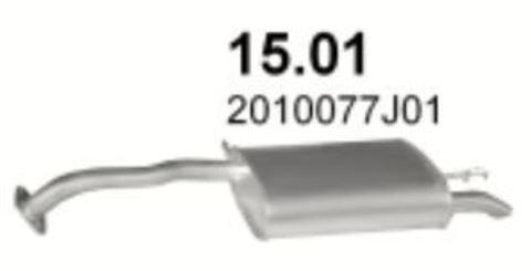 глушитель Nissan Primera 90-96 2.0i/GT kat