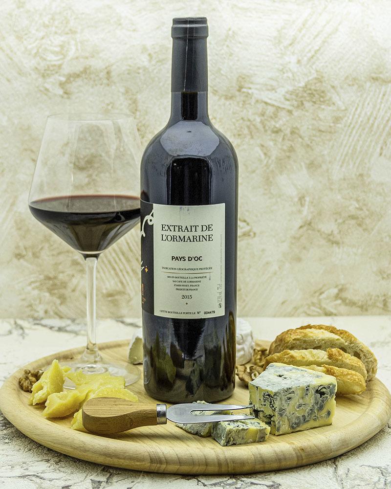 Вино L'Ormarine Икстрейт де Л'Ормарин Красное сухое 2015 г.у. 12,5% 0,75 л.