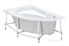 Акриловая ванна асим Welna 160х100 Лв бел Roca ZRU9302997 фото