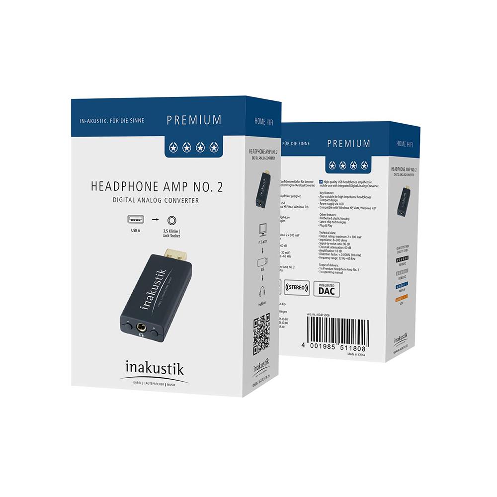Inakustik Premium Headphone №2, 00415006