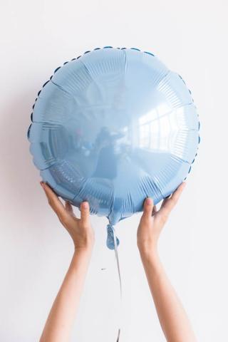 Фольгированный шар круг