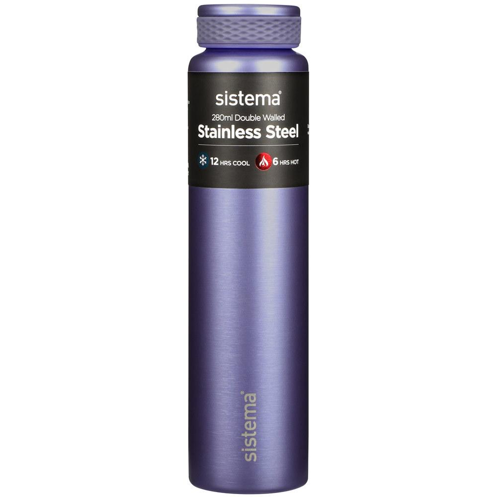 "Термобутылка Sistema ""Hydrate"" 280 мл, цвет Фиолетовый"