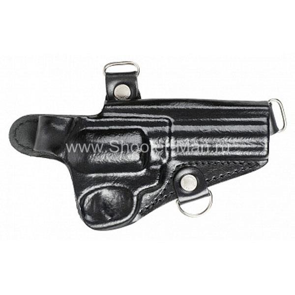 Оперативная кобура для револьвера Гроза Р-06 горизонтальная ( модель № 21 ) Стич Профи