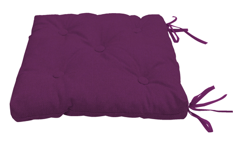 Подушка на стул Адриана бордово-фиолетовый