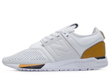 Кроссовки Мужские New Balance 247 LUXE Pack White Orange