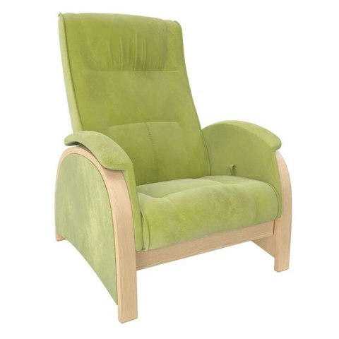 Кресло-глайдер Balance Balance-2 натуральное дерево/Verona Apple Green, 014.002