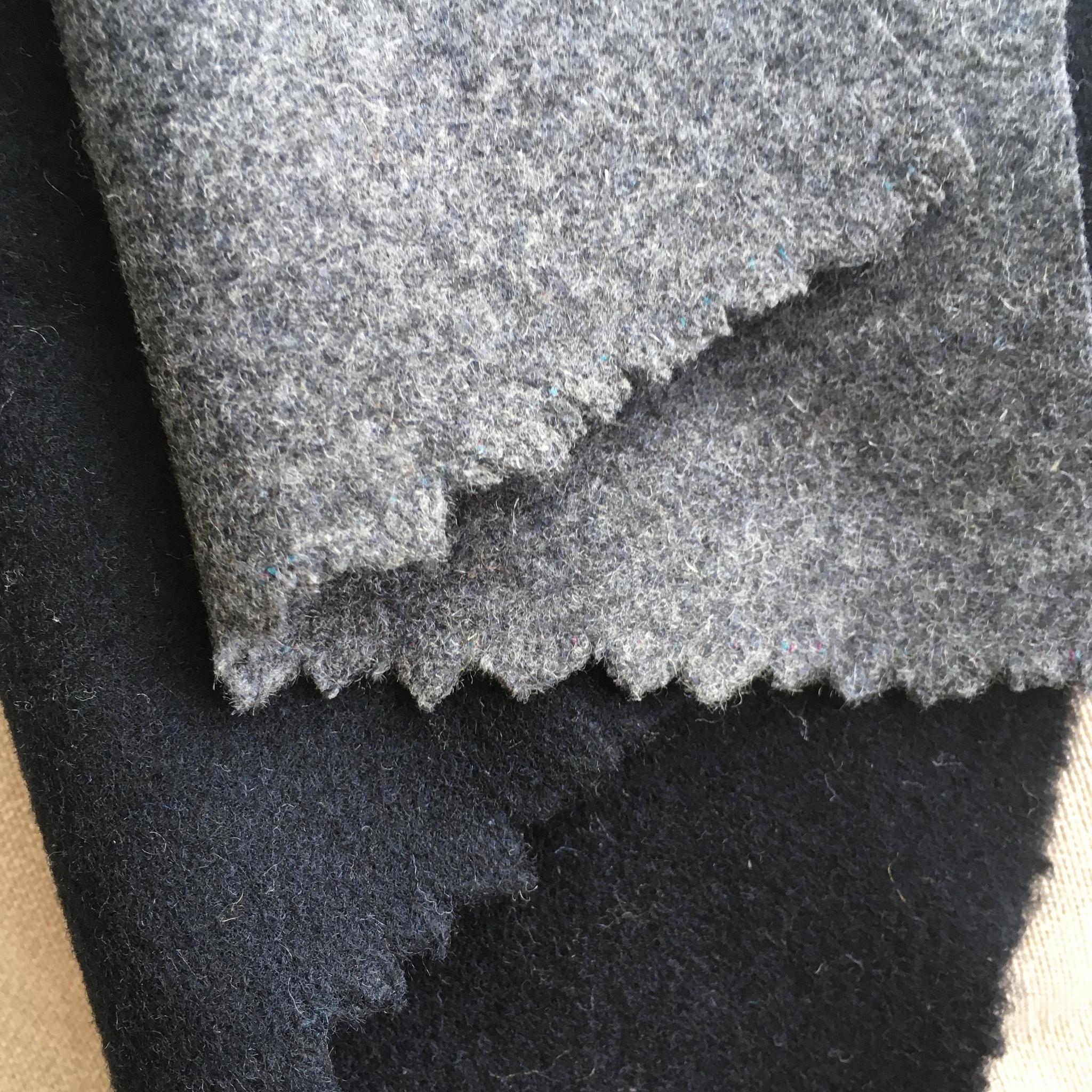 пальтовая ткань серый цвет
