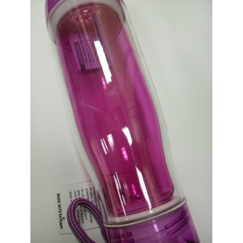 Бутылка стеклянная Zoku 475 мл фиолетовая