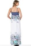 Платье для беременных 05549 цветочный принт