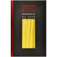 Паста Casa Rinaldi яичная Паппарделли лапша 250г