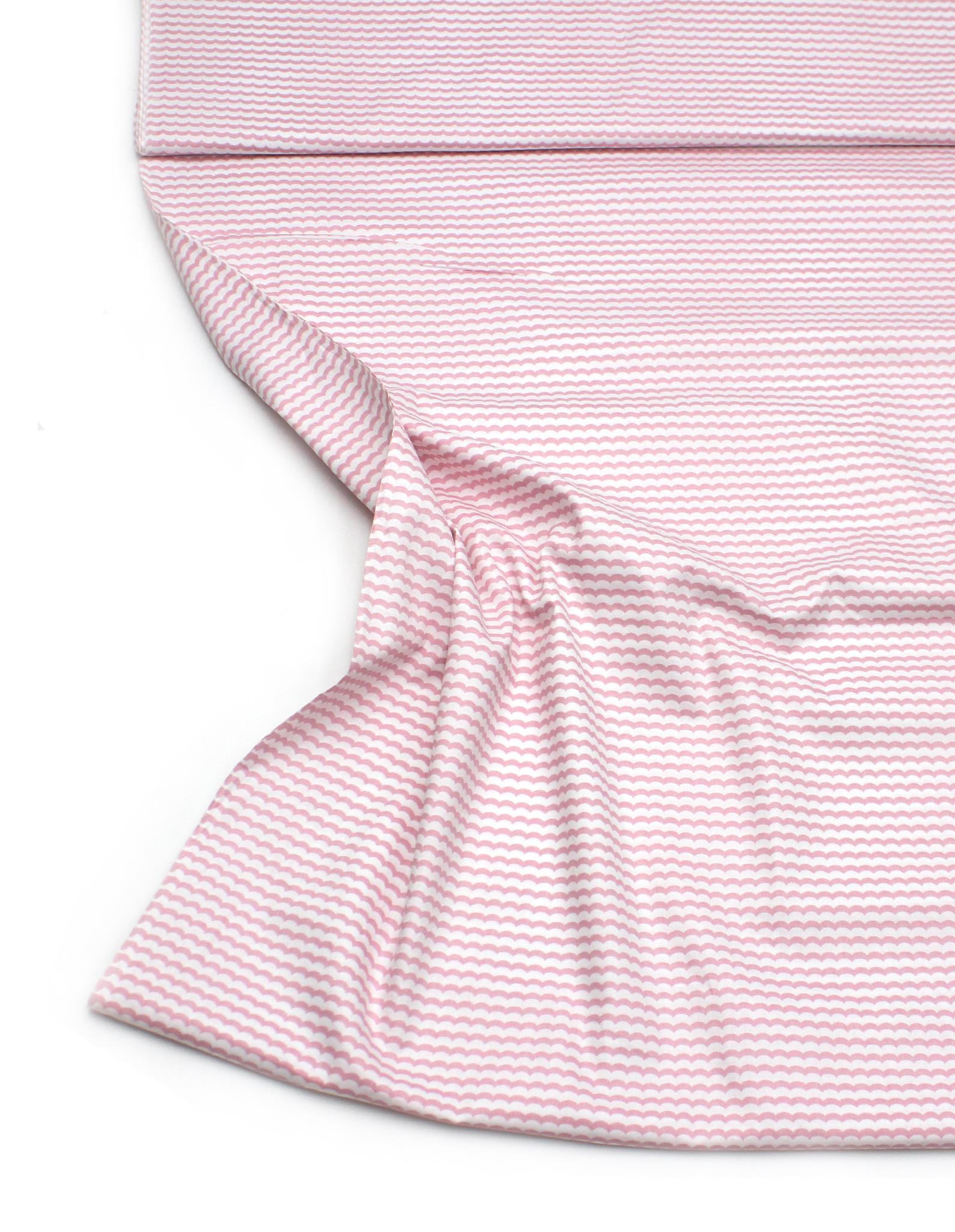 Зигзаг волна розовый