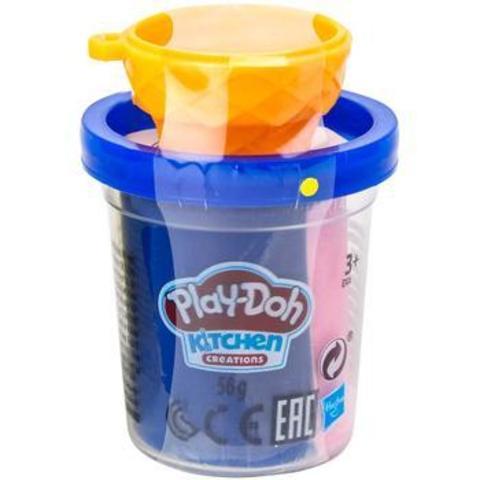 Пластилин PLAY-DOH + формочка, цвет в ассортименте