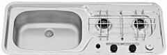 Варочная панель газовая с раковиной DOMETIC SMEV MO911L, 2 конф., левая