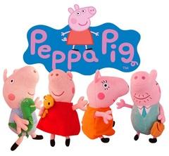 Розовая Свинка набор мягких маленьких игрушек