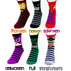 Socks DC Comics Super Hero Marvel