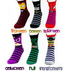 Socks DC Comics Super Hero Marvel