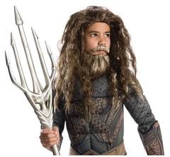 Лига Справедливости парик и борода Аквамена