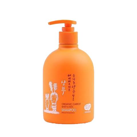 Детский Шампунь На Основе Ферментов Моркови WHAMISA Organic Carrot Baby & Kids Shampoo