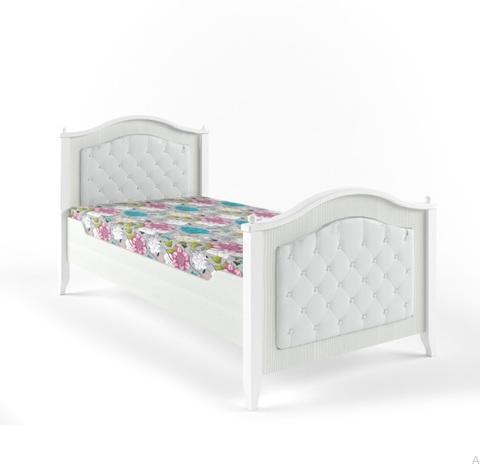 Кровать с каретной стяжкой Классика