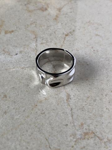 Кольцо Циара, серебряный цвет
