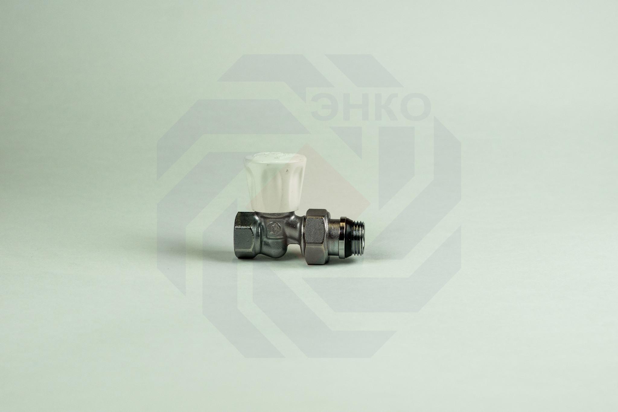 Клапан радиаторный ручной GIACOMINI R706A прямой ½